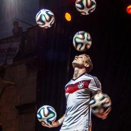 Sebastian Landauer - Fußball Jongleur & Fußball Freestyler
