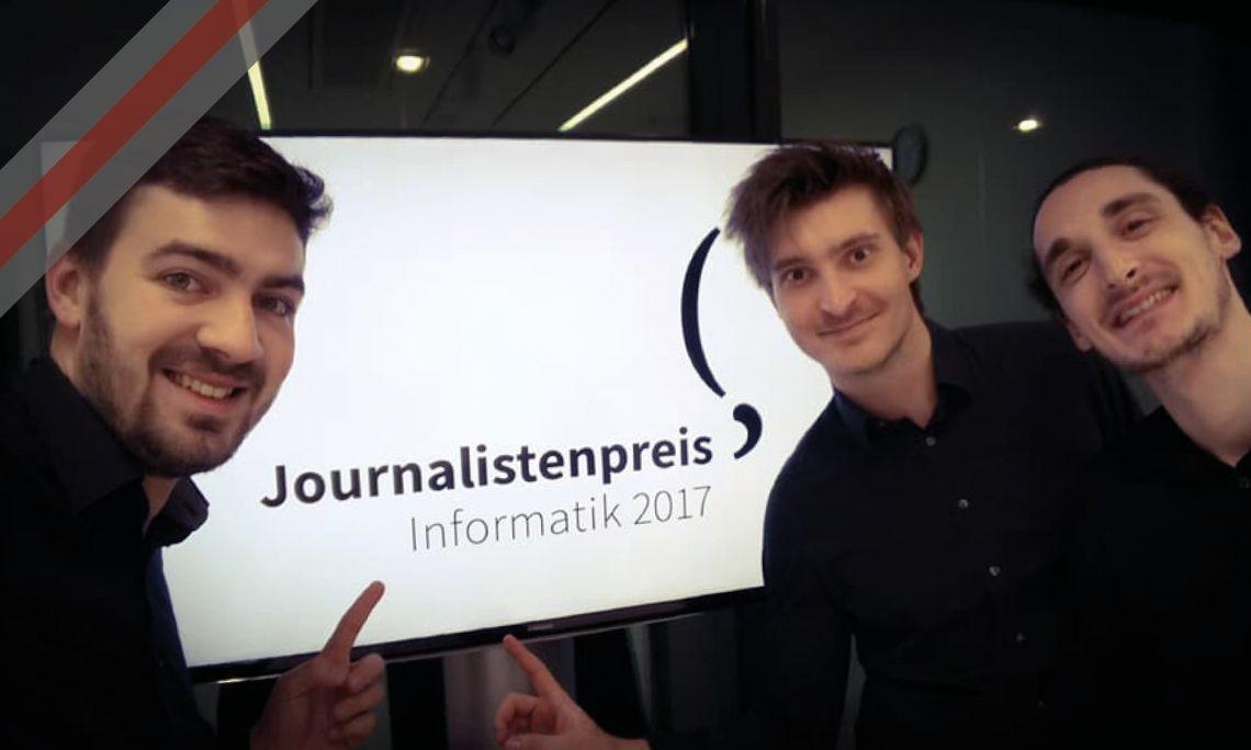 STUDNA | Journalistenpreis Informatik 2017