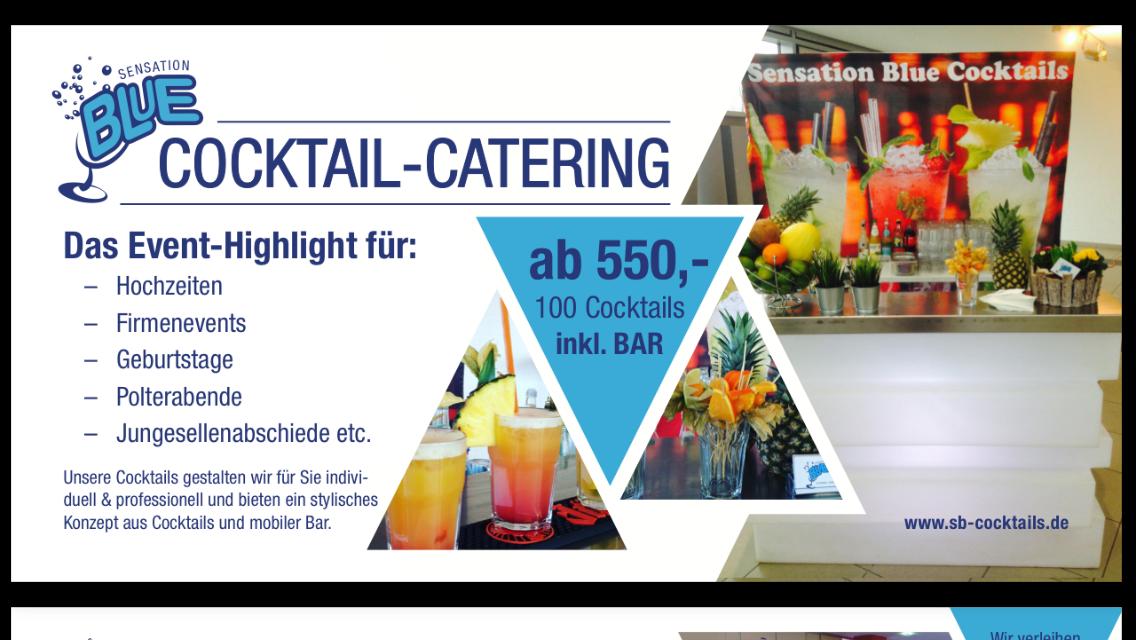 Sensation Blue Cocktails