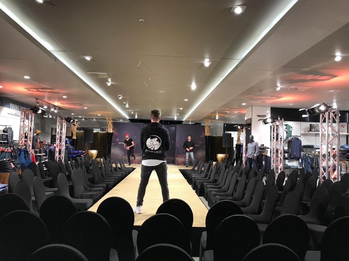 Fashion Shows Fashion Show Choreografie und Model Cast