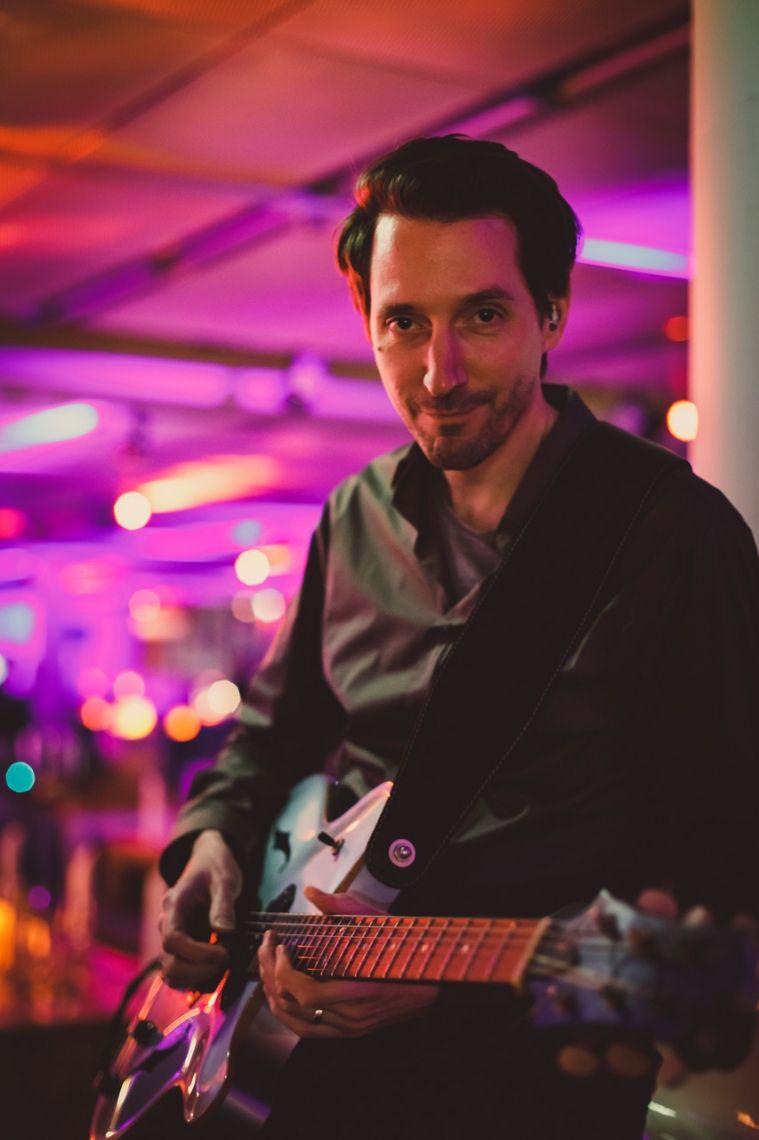 Flughafen Düsseldorf 2018  Hanno Busch - Echo Jazz Award Gewinner 2018