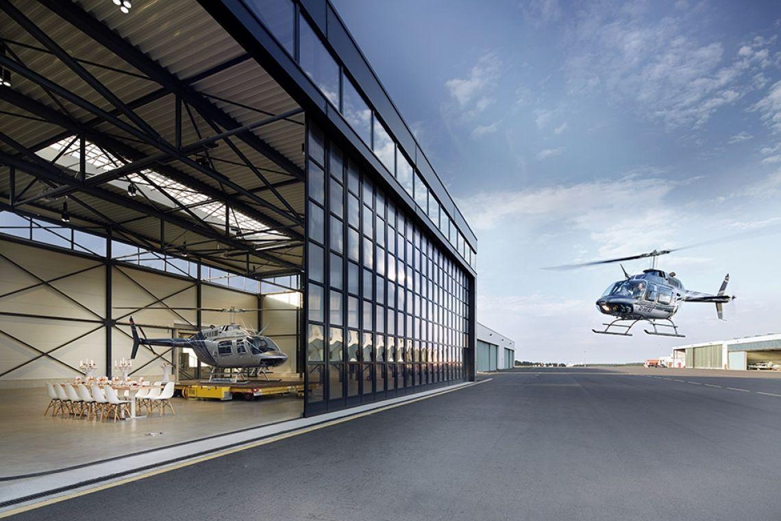 Willkommen im Event-Hangar!