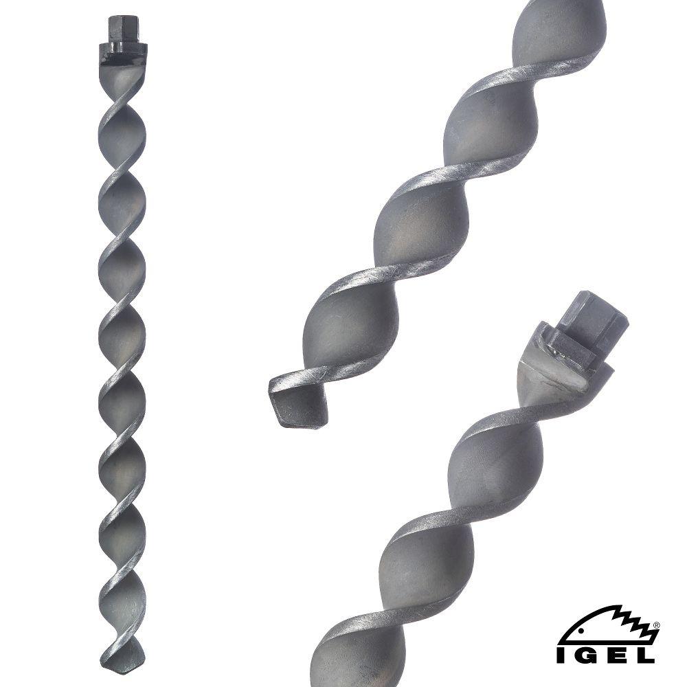 Spirafix Bodenanker Klein, leicht, stark: Hält bis zu 8 Tonnen pro Anker!