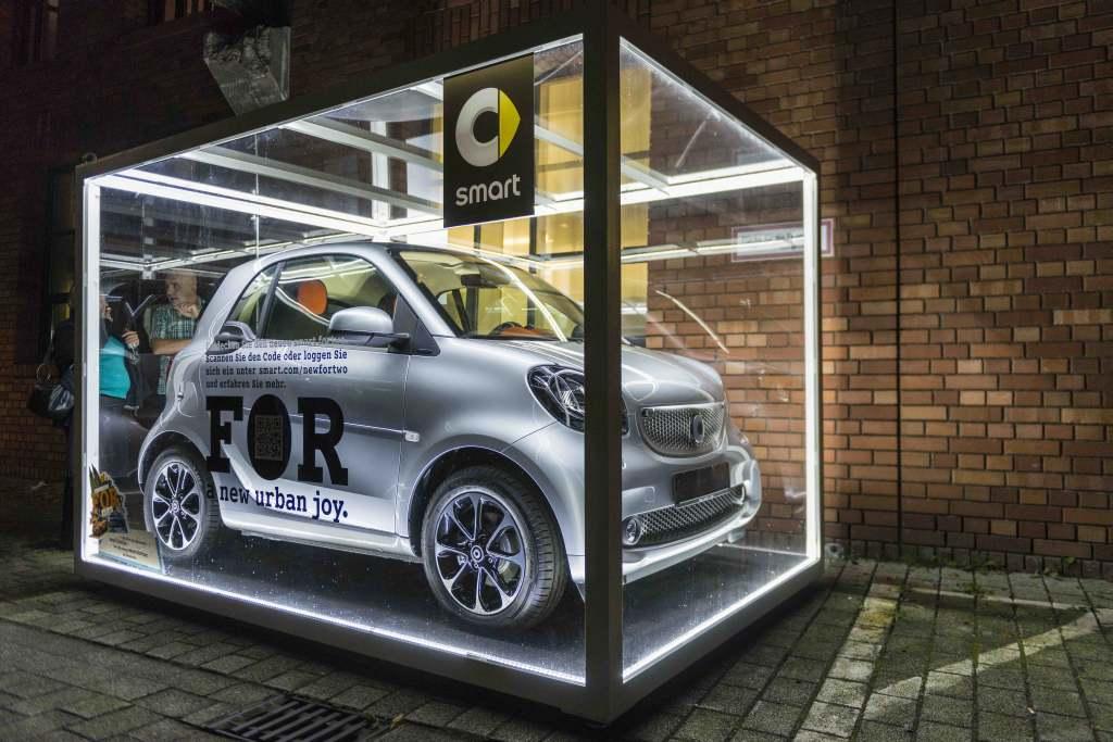 Premiere - smart fortwo / smart forfour - im bauwerk Köln