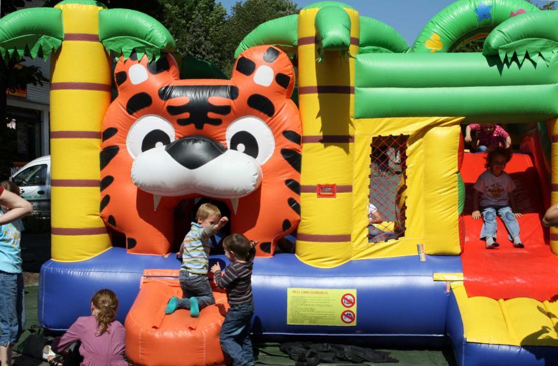 Spielhaus Tiger ... ... bietet jede Menge Spaß beim toben, klettern, hüpfen, rutschen...