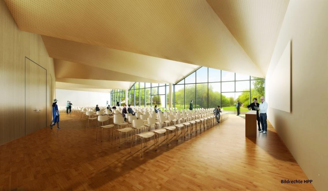 Neubau Visualisierung Innenbereich Bildrechte: HPP