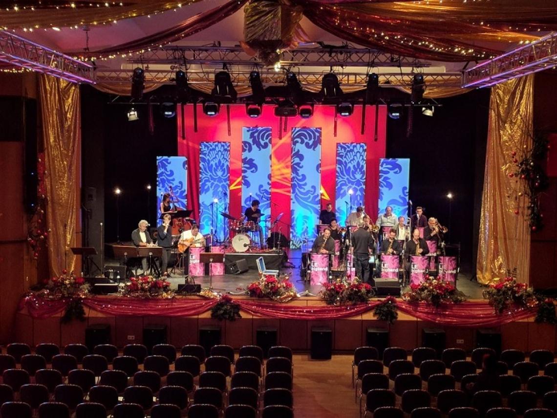 Konzerte Der Große Saal kann für das gesamte Veranstaltungsportfolio genutzt werden, z.B. für Konzerte.