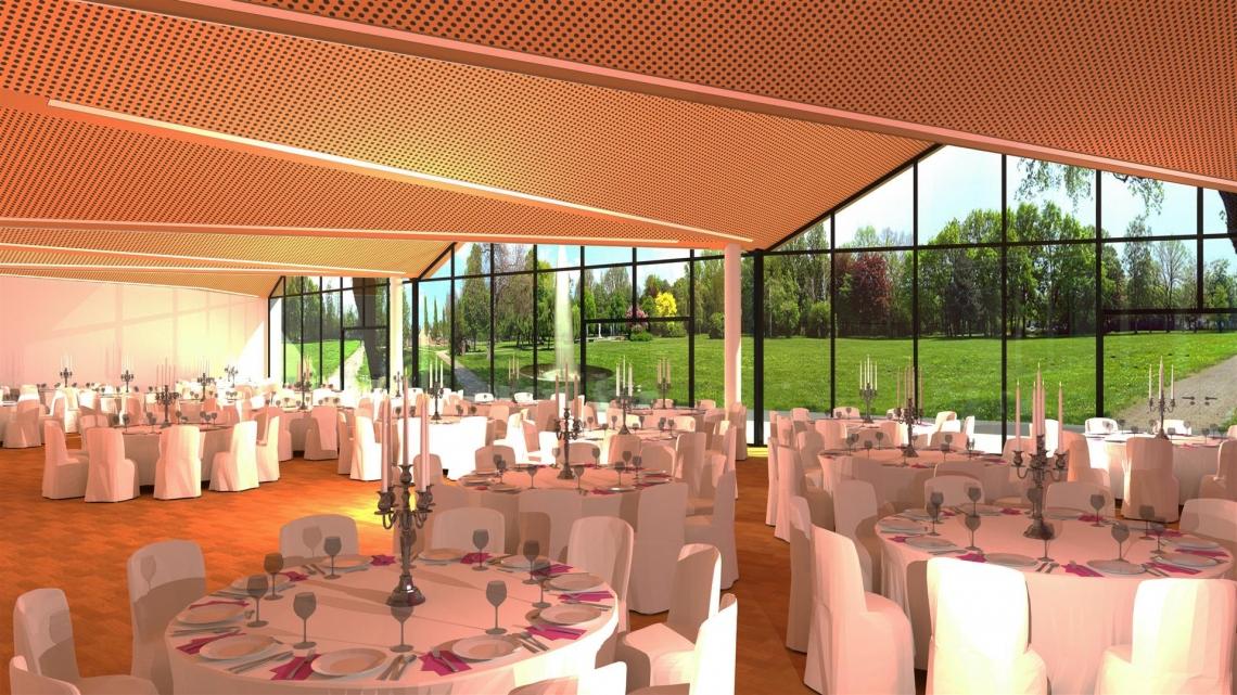 Auch für Galaveranstaltungen und Hochzeiten steht Ihnen die neue FILDERHALLE zur Verfügung.