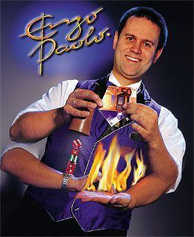 ENZO PAOLO - ZauberKunst vom Feinsten Eine Varieté-Vielfalt in der Show, die seinesgleichen sucht...