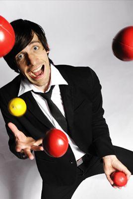 Jongleur Christoph Rummel, Business-Jonglage und Comedy intelligente Jonglierkunst