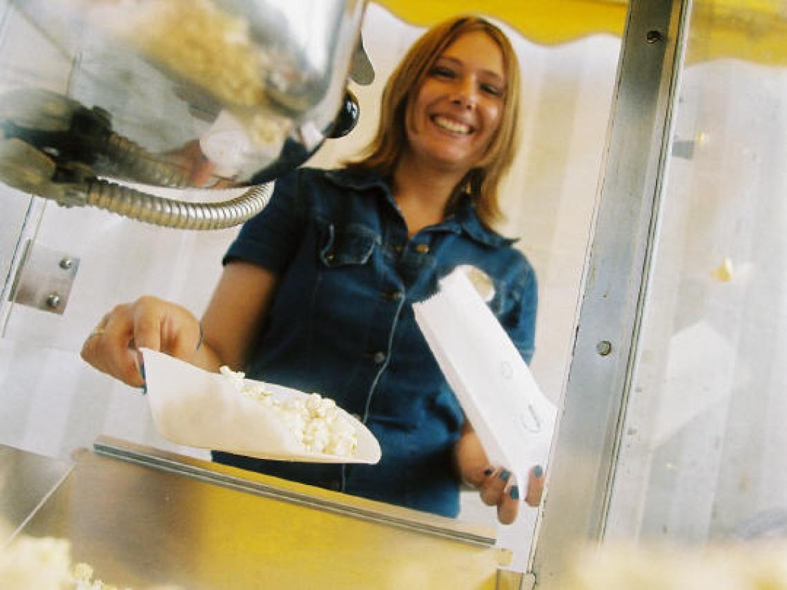 Popcorn / Zuckerwatte klassisch und immer lecker