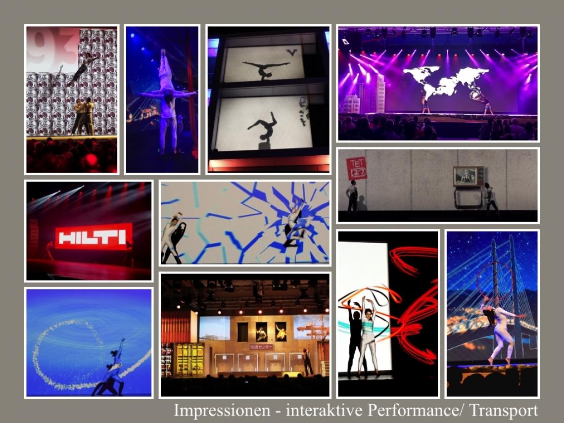 interaktive und Mapping Shows, exklusive Markeninszenierungen Interaktive Performances sind das nächste Level des Entertainments. Eine Verschmelzung aus realer und digitaler Welt, konzipiert auf Ihre Marken und durch akrobatisches Storytelling zu Ihrem exklusivem Erlebnis gemacht.