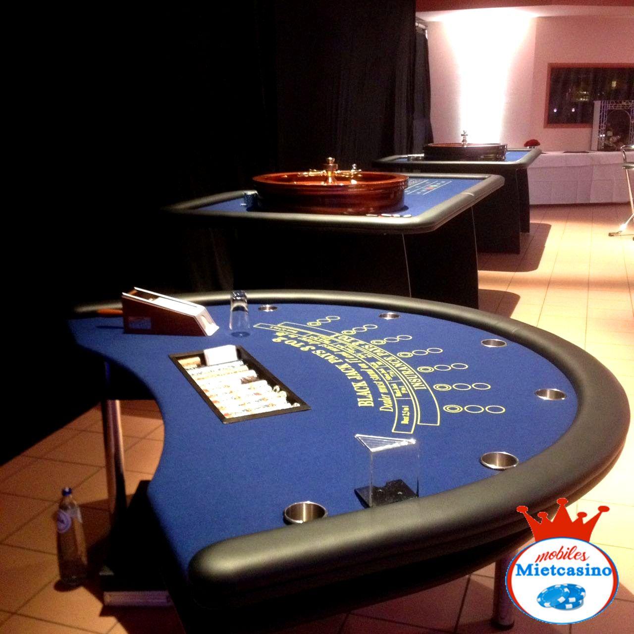 Casino Spieltische Roulette,Poker,Black Jack  Casino Event in Aachen