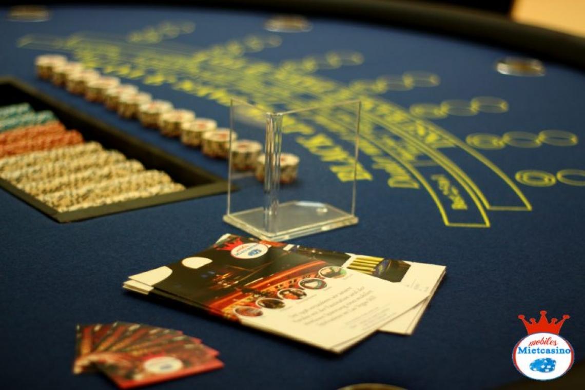 Black Jack im Mobilen Mietcasino Mieten sie sich ihren eigenen Black Jack Tisch für ihr Event!