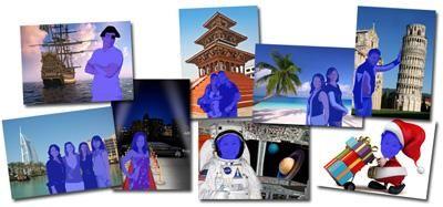 alinea.BlueBox Motivbeispiel Um uns ganz auf die Gegebenheiten Ihrer Veranstaltung einstellen zu können, haben wir verschiedene alinea.BlueBox-Fotopakete für Sie zusammengestellt. Druch das branden der ausgedruckten Fotos können Sie perfekt Ihr Logo oder den Claim der Campagne in Szene setzen.