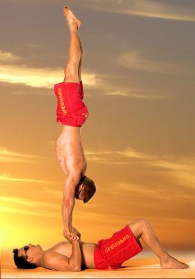Handstand Akrobatik