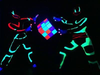 Glowdance Glowdance Schwarzlichtshow