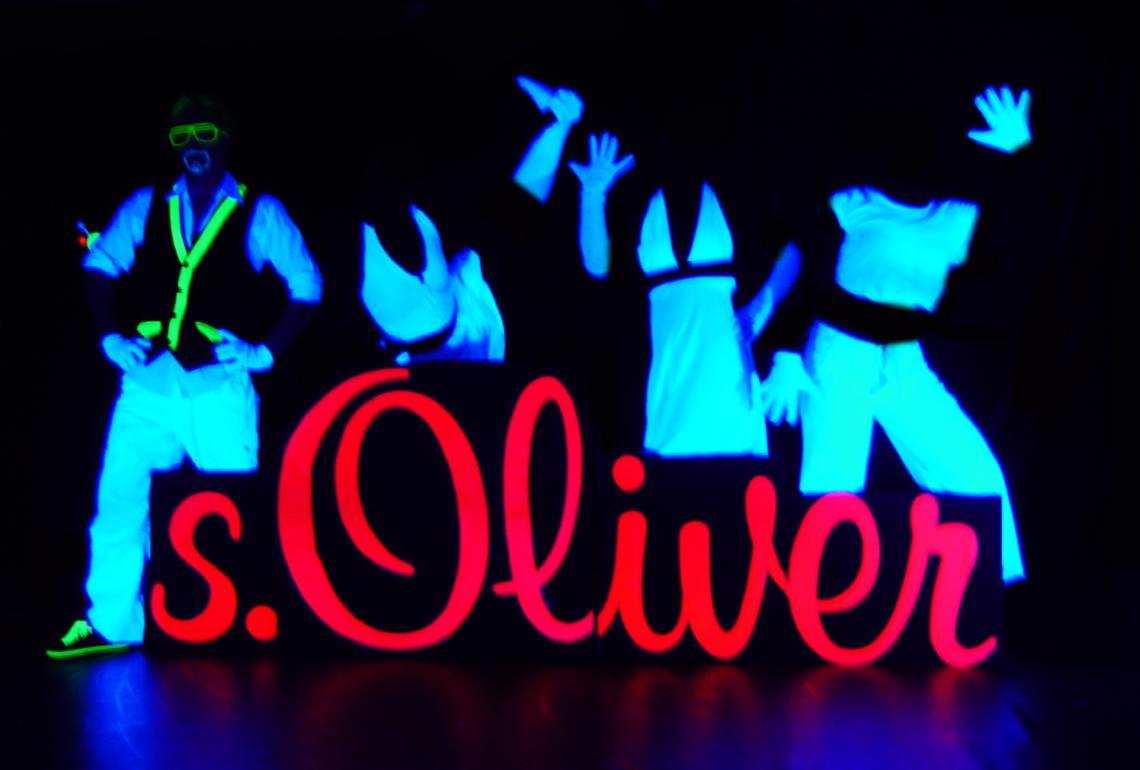 Showanferting s. Oliver Eröffnungsshow für s.Oliver