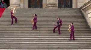 Video: Mobile Damenband Berlin - BrassAppeal