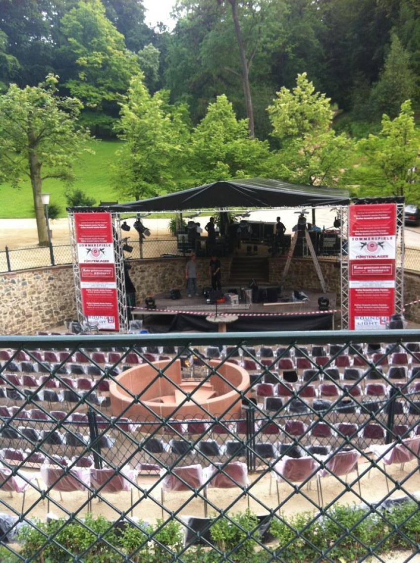 Sommerbühne im Staatspark Fürstenlager