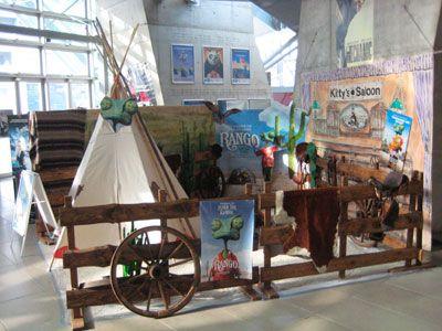 UFA-Kristallpalast Dresden - Ausstellung zum Film Rango UFA-Kristallpalast Dresden - Ausstellung zum Film Rango