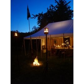 Historische Zelte und Themendekorationen Historical Tents and Decoration