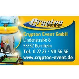 Crypton Event GmbH Bundesweit Eventmodule mieten beim Profi