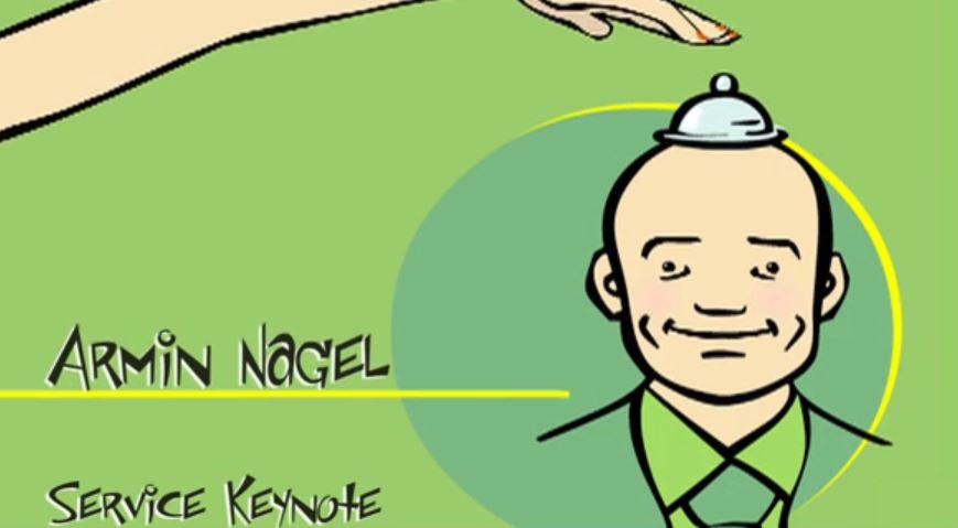 """Armin Nagel, Vortrag, Key Note, Speaker, Comedy Rede """" Service darf Spass machen"""""""
