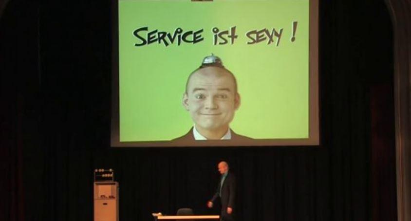 Video: Armin Nagel, Service Comedian, Vortragsshow �Service ist sexy!�