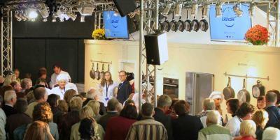 Messe TV Produktion von Live-Inhalten auf Messe (hier in Kaunas, Litauen)