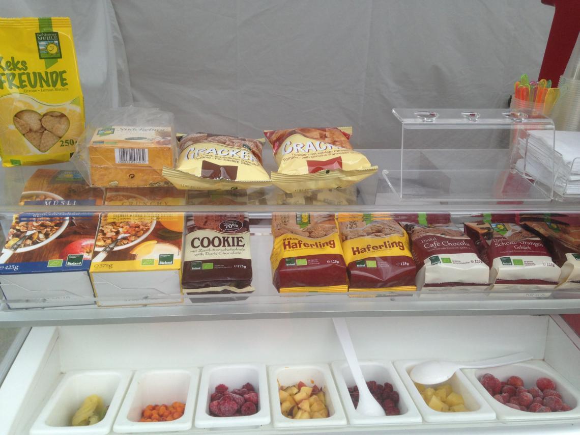 Produkte für die Eiszauberei