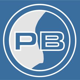 PB-Logo, 2D, negativ