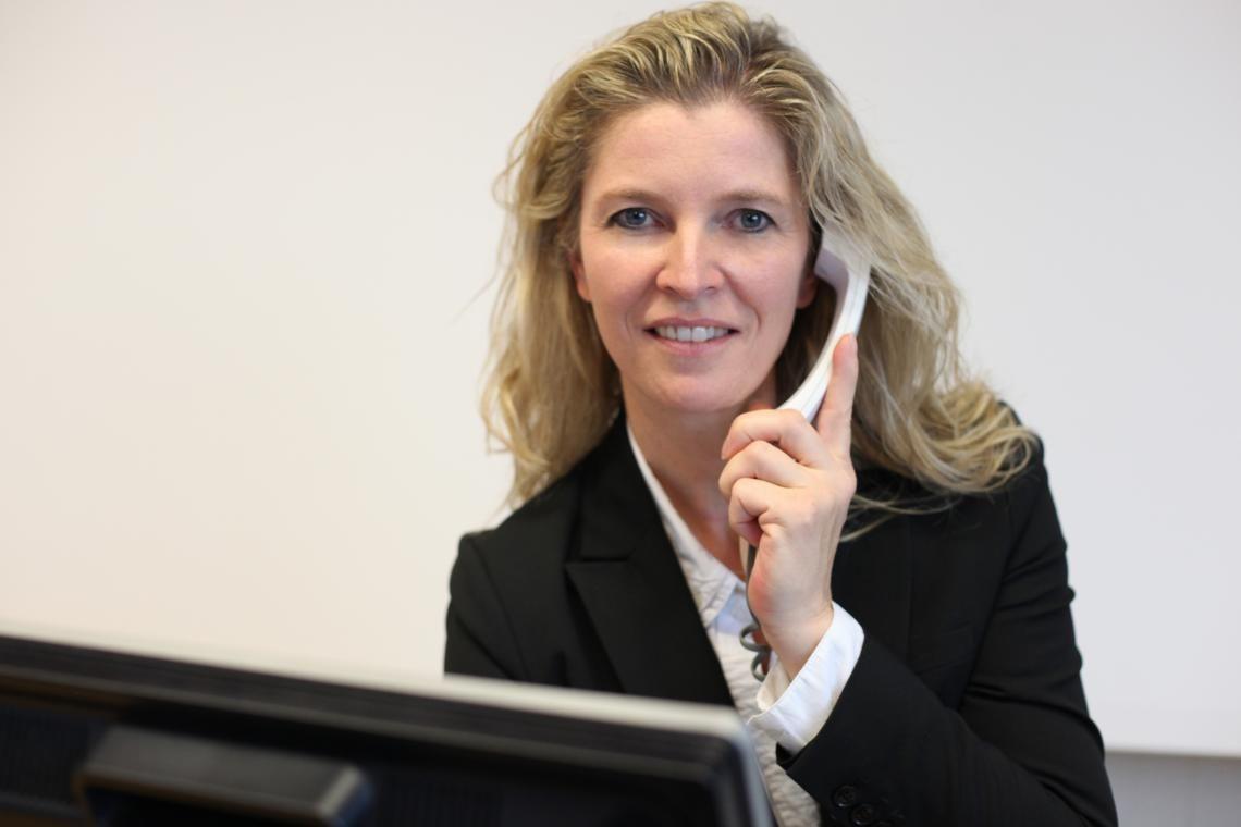 Assistenz der Geschäftsleitung Frau Sandra Weidmann