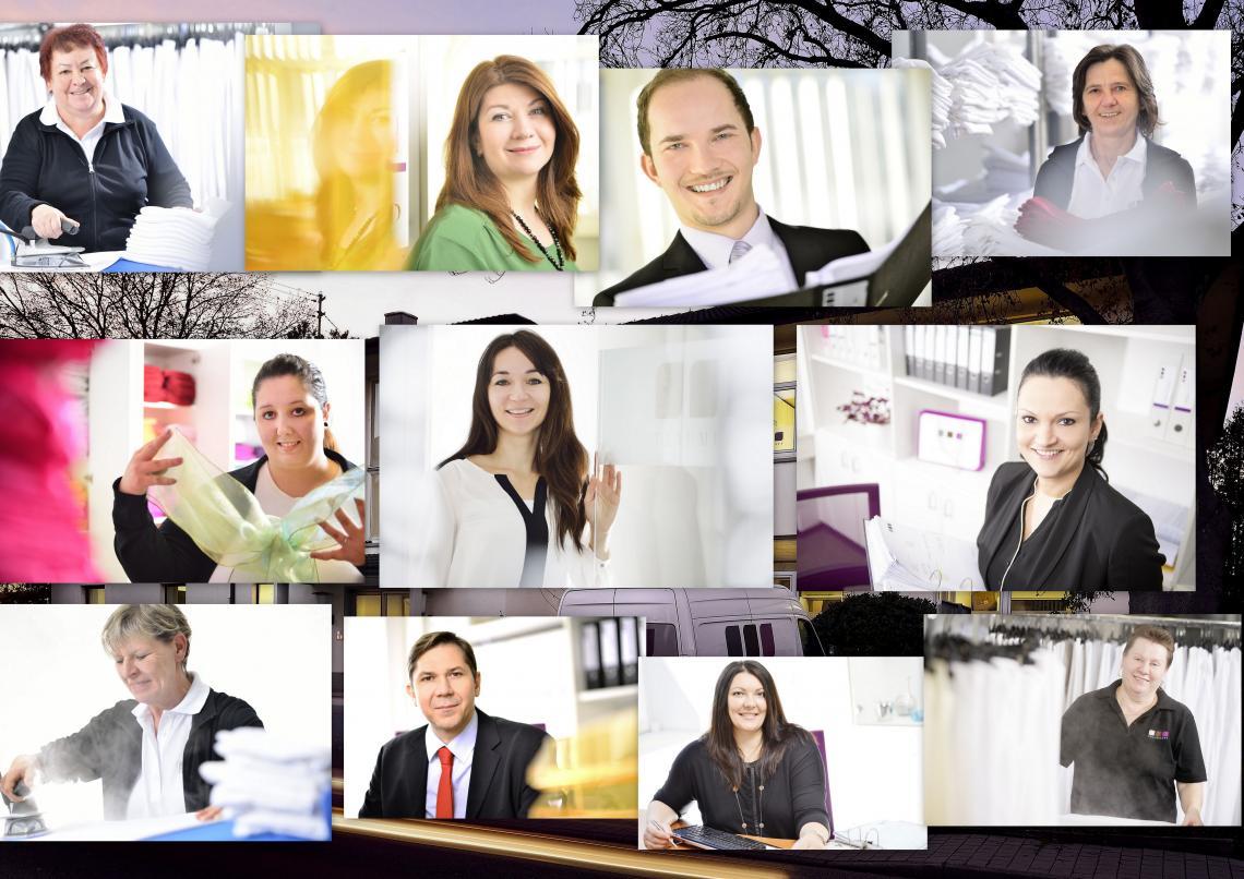 Traumhaft Verleihservice  das sind wir: Insgesamt 14 Menschen eingesetzt in verschiedenen Abteilungen mit einem gemeinsamen Ziel.