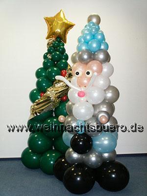 Ballongeschenke Lassen Sie sich verzaubern vom wundervollen Glanz und der Magie der Weihnachtszeit!