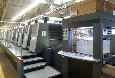 Heidelberger Druckmaschine Modernste Technologie garantiert einen hohen Qualitätsstandard.