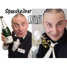 Spasskellner & Comedykellner Grinblat,  Comedy-Highlight f. Firmenfeier & Privat