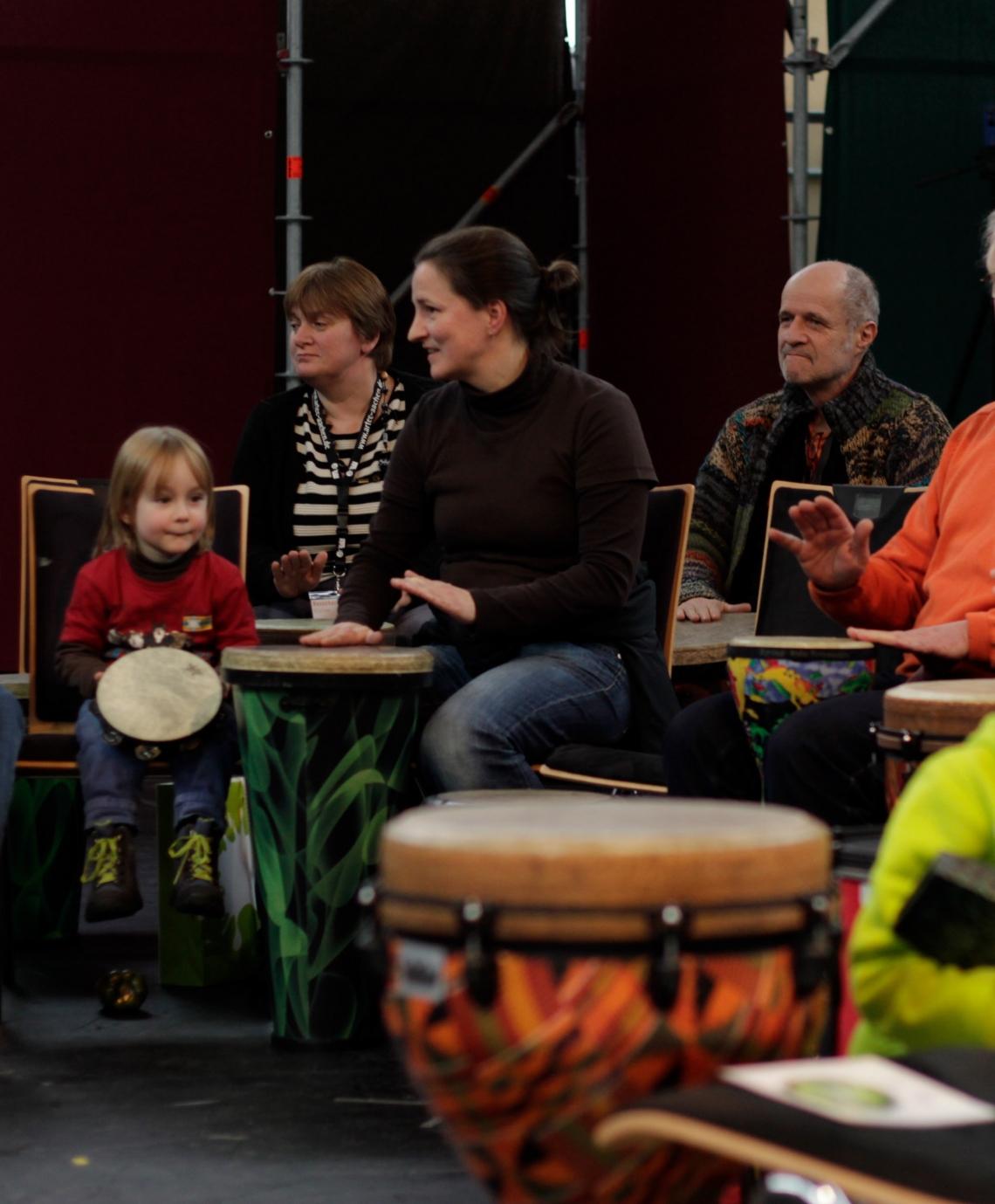Drum Circle - generationsübergreifend