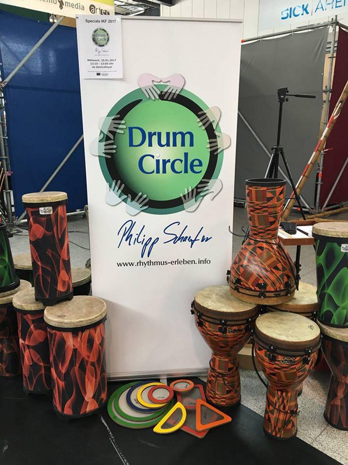 Drum Circle Philipp Schaefer - Rhythmus erleben! Wir bringen Qualitätsinstrumente für bis zu 200 Personen mit.
