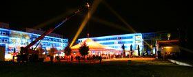 "Researchers Night Researchers Night / UNI Mainz.  LEISTUNGEN: Gesamttechnische Planung & Ausstattung  BESONDERES: ""Magic Sky"""