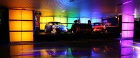 """Präsentation Mini Clubman Präsentation Mini Clubman  LEISTUNGEN: Gesamttechnische Planung und Ausstattung der Präsentationen in Mainz und Wiesbaden.  BESONDERES: Die audiluma """"Colorwall"""""""