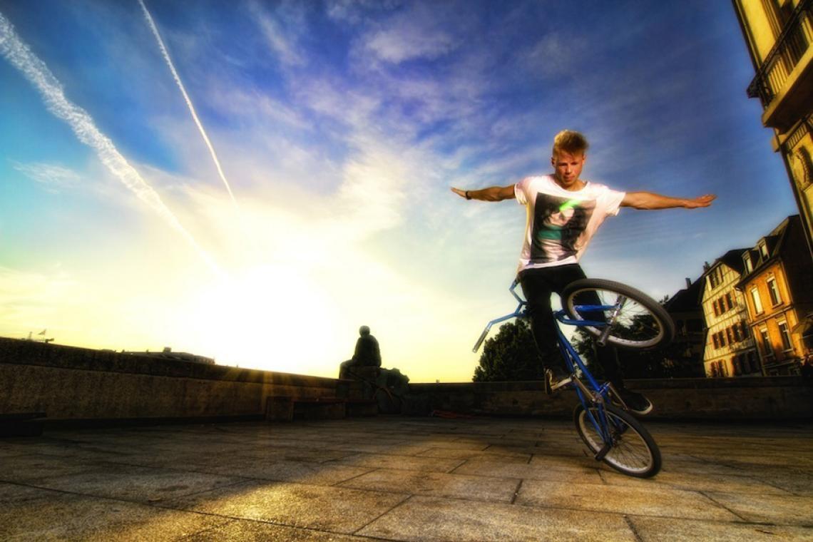 Chris Böhm - Flatland BMX
