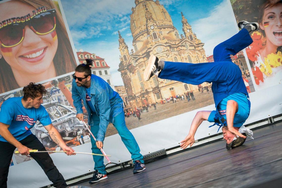 STYLEJUNKIES mit 'Die Baumeister' zum Tag der Deutschen Einheit in Dresden 2016