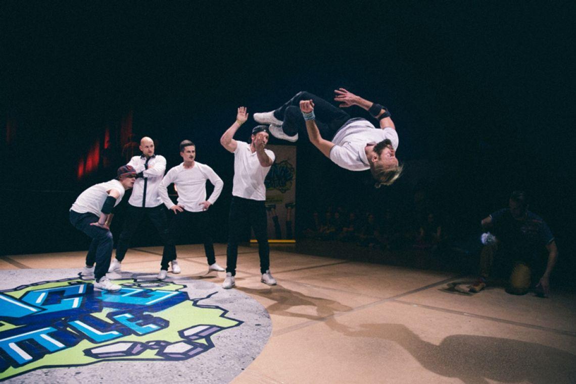 The Saxonz @ AOK Dance Battle 2015 (®Björn Vofrei)