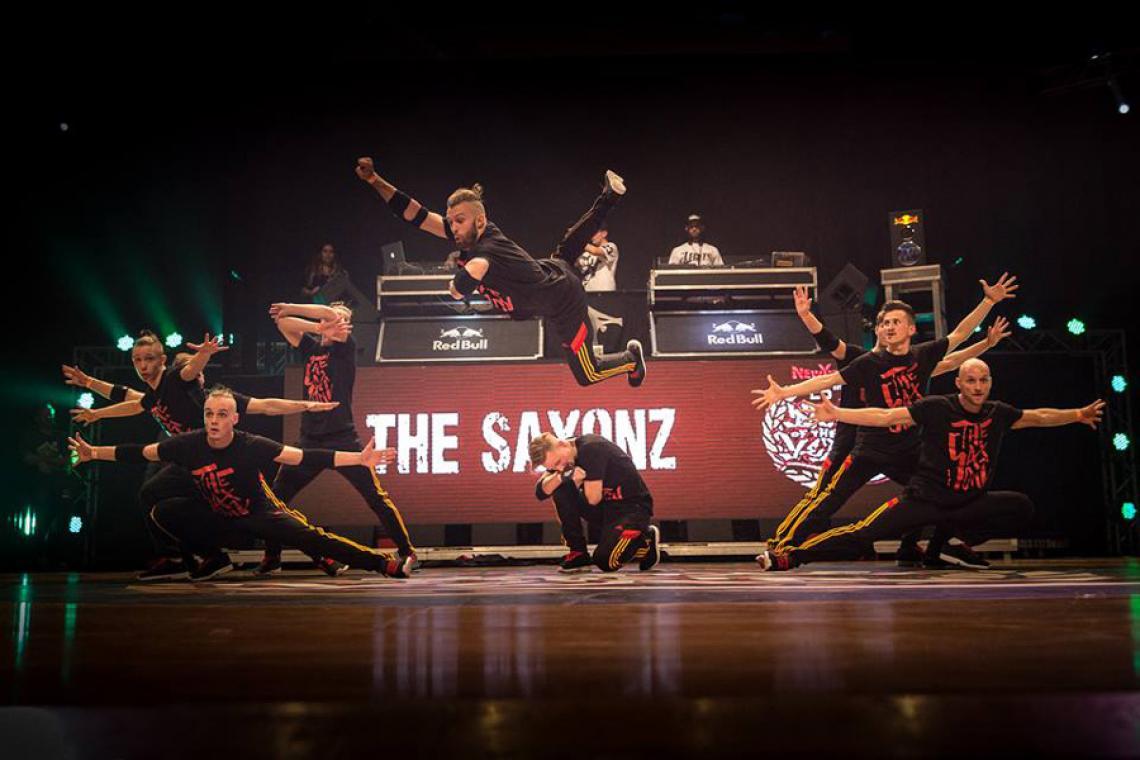 THE SAXONZ @ International Battle Of The Year (® Björn Vofrei, 2014)