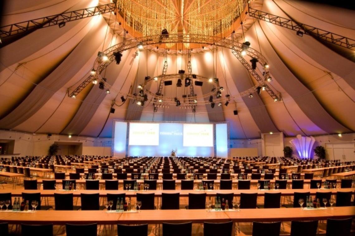 Tagen im Europa-Park Dome