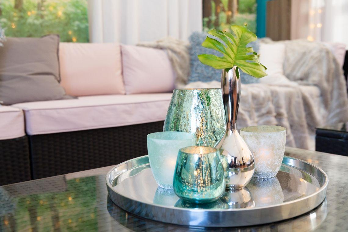 Zelt Hungen- Loungefeeling im modernen Wald-Stil