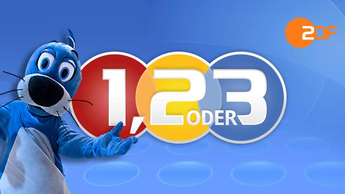 1, 2 oder 3-Spielshow mit Piet Flosse DER Rateklassiker aus ZDF und KiKA