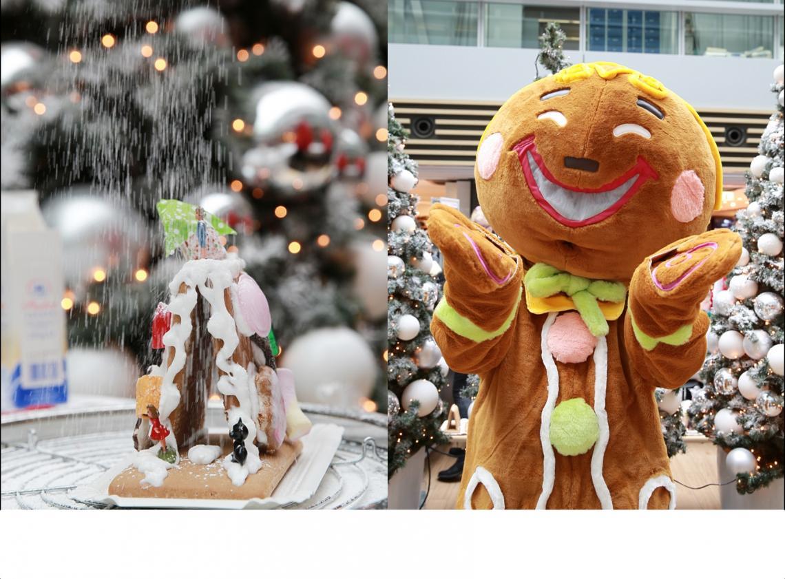 Knusperhäuschenbasteln + Lebkuchenmann Weihnachtsaktionen von nostalgisch bis amüsant