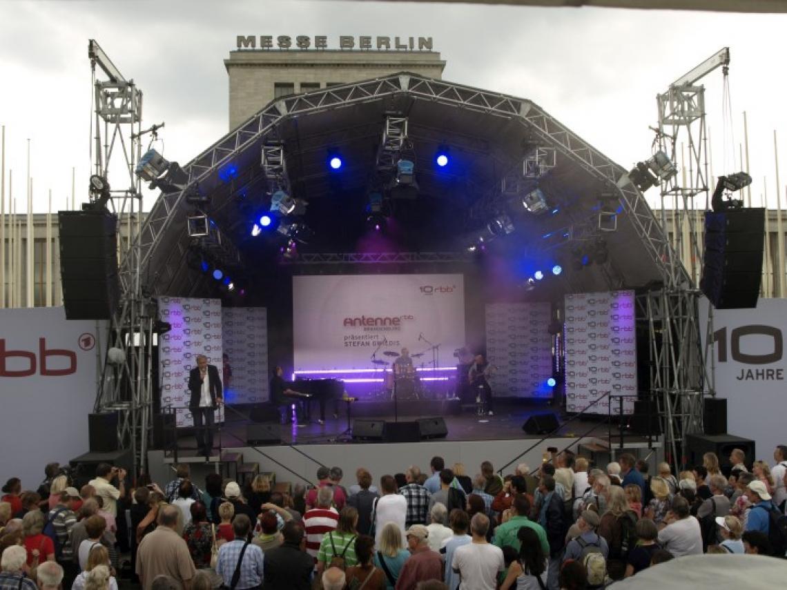 10 Jahre rbb - Berlin RS Bühne